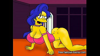 Simpsons porn sexy cartoon - Marge simpson hentai parody
