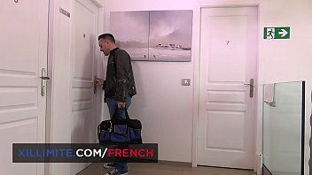 Hot French asian wants anal sex in the bathroom with a random guy