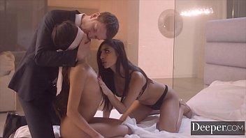 Image: Deeper. Vina Blindfolded for Gianna's Erotic Experimentation