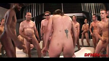 whore gangbanged by 50 dudes 109