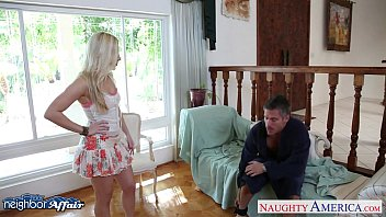 Sweet Blonde Ashley Fires Fuck Her Neighbor
