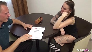 GERMAN TEACHER SHOW COLLEGE TEEN AT SEX EDUCATION WITH FUCK