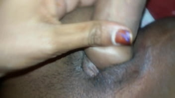 Kavitha Bhoopalpally stimulated her pussy with his boyfriend's Penis