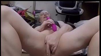 Pre-op tranny with a vibrator