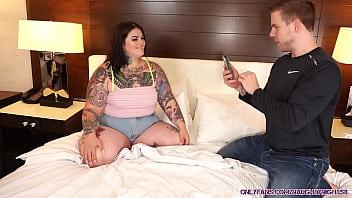 BBW Tikt0k Girl With BIG ASS Sugarbooty Fucked by Steve Rickz! 11 min