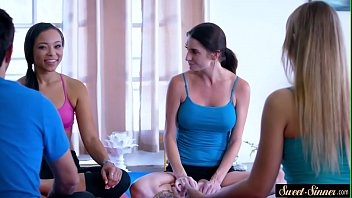 Curvy Stepdaughter Pounded After Yoga Class