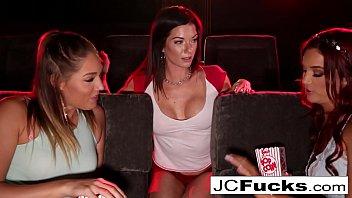 3 lesbian way - Jayden cole 3-way lesbian romp