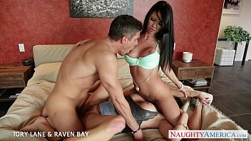 Chesapeake bay bottom feader Brunettes tory lane and raven bay gets facialized