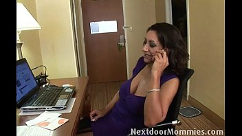 Hot black woman fucked - Big breasted mom banged in hotel room
