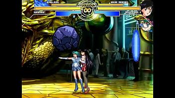 Kuromaru Slime vs SailorMars Mercury
