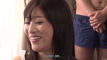 Subtitled CFNM Japanese gokkun party with Miki Sunohara thumbnail
