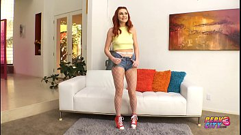 Pervcity Redhead Squirting Teen Lacy Lennon Gets Creampie