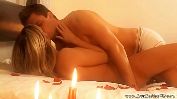 Blonde Lover Gets Really Passionate