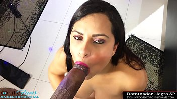 Sister could not resist and sucked her own brother's black cock when her parents were away from home | Subscribe to my OnlyFans onlyfans.com/angelhotoficial | twitter @dominadornegro | Insta @marcossilvasp