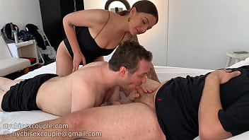 honey i brought over a friend. he needs his cock sucked tonight