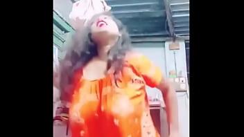 desi BHABHI braless big boob