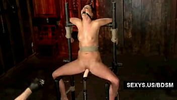 Extreme forced masturbation - Forced dildo