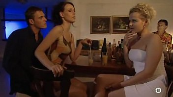 Vintage bar cheers - Surprise anal in bar