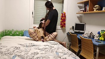 Beautiful Chinese Slave Tied Up With A Vibrator On Her Feet And Fucked - Futomomo Shibari Tie