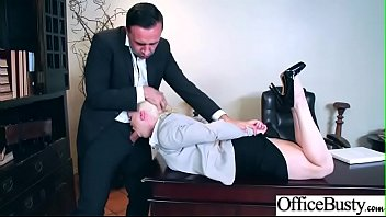 Slut Girl (Nikki Delano) With Round Huge Tits Get Nailed In Office vid-20