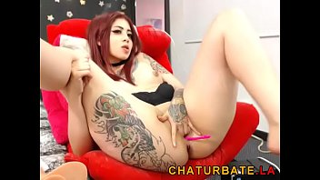 Young Tattooed 18yo Redhead Teen Spreading Legs on Cam at www.chaturbate.la