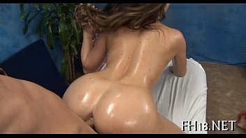 Oiled teen boobs Tiny anal aperture is fucked
