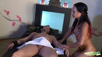 Masajito con follada - Latina suck & fuck, full scene