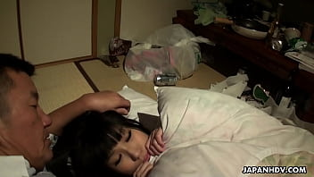 Japanese babe, Runa Kobayashi is naughty, uncensored 12 min