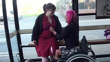 Guardian easycare 2000 adult wheelchair - Leah caprice and her lesbian lover flashing at a busstop