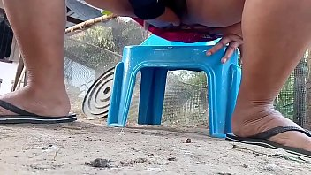 Thai aunty outdoor pissing thumbnail