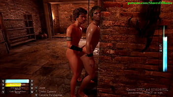 """Slaves of Rome Game - Male Sex Slave Gets Fucked in the Dungeon <span class=""""duration"""">43 sec</span>"""