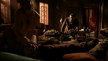 Esmé Bianco and Sahara Knite lesbo sex scene in Games of Thrones S01E07 (HD quality) thumbnail