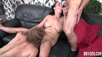 Image: German whore take two dicks