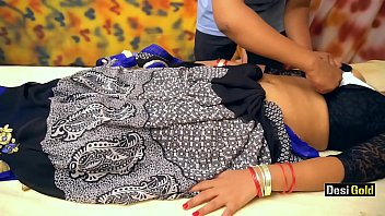 Real Indian Hot Bhabhi in Massage Parlour