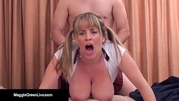 Maggie Green Says See Me Get A Hot Load Of Cum On My Tits! porno izle