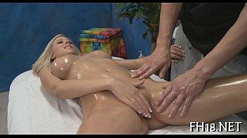 Oriental massage episode scene