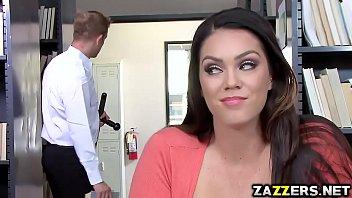 Alison Tyler deep throats Bill Bailey big cock