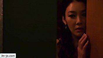 Jin-Jo Masturbates While Watching Her Friend Get Fucked