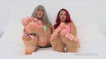 Cute sexy freckles - Pov foot joi 20 trailer
