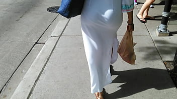 Vpl penis - Candid white dress vpl