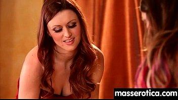 Sexy girl gives big tits lesbian an orgasm 10