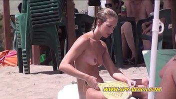Hot Nudist Beach Voyeur Females Hidden Cam Video Part 1
