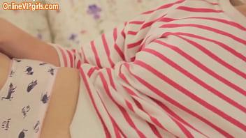 Hairy innocent blonde schoolgirl teen in white socks 10 min