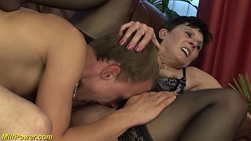 Mature milf movie Incredible deepthroat with hairy milf