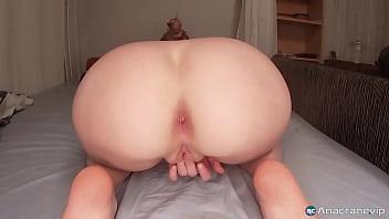 Masturbating Wet Creamy Pussy until I Cum from Huge Dildo