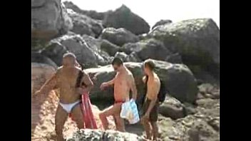 Old gay men at the beach - Public orgy milkyboys videos - gay boy 1