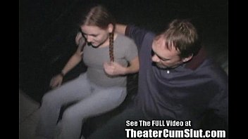 Teen theatre sex - 18yo hard knox ho fucked in xxx theater