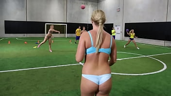 COLLEGE RULES - Payton Simmons, Megan Matthews, Carter Cruise and More Playing Games With Their Colleagues