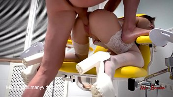 SEXY DOCTOR FUCKED A PATIENT ON A GYNECOLOGICAL CHAIR. MIA BANDINI porno izle