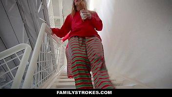 FamilyStrokes - Fucking My Stepdad On Christmas Morning (Niki Snow)